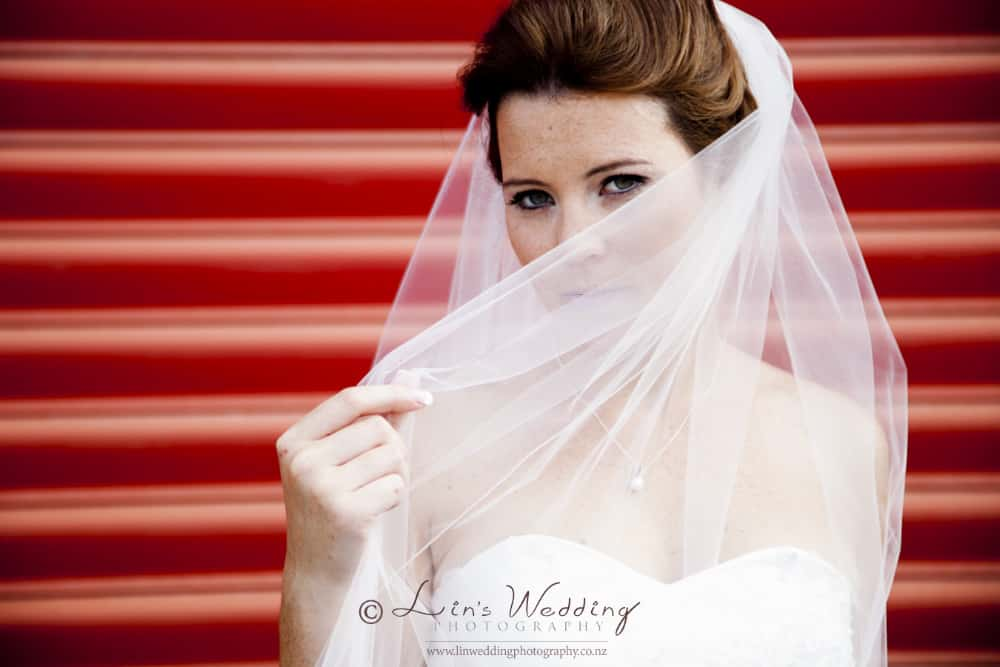 Bride wedding portrait by Lin Zhao